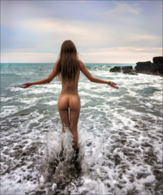 Beauty by the sea