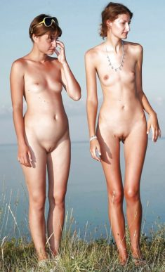 Nudist women with great body