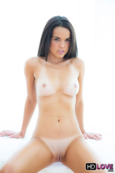 Brunette babe beauty Dillion Harper nude and with tan lines