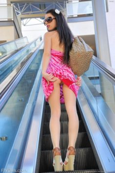 Young brunette teen Lacey