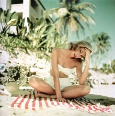 Grace Kelly on vacation in Jamaica, 1955   | ArtyPin