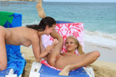 Hailey Young and Anita Pearl