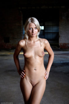 Young blonde beauty Marianne