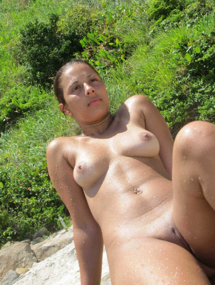 Young Brazilian nudist