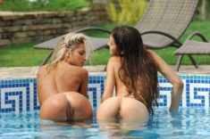 Tight asses at the pool