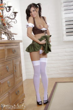 Destiny Moddy in destined maid
