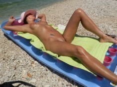 Mature nudist babe