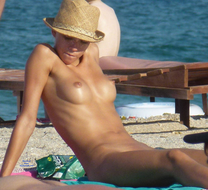 Nudist beauty with big tits