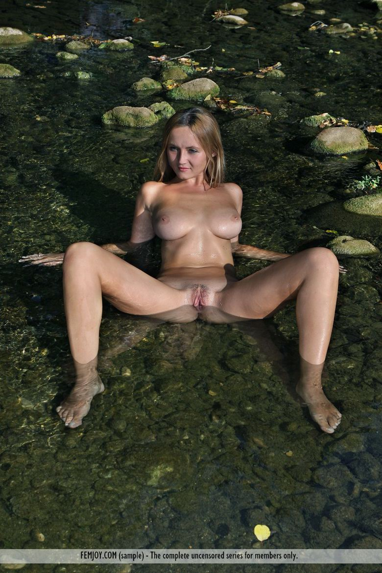 Young blonde beauty