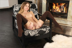 Young angel beauty Stefani in Tender Baby