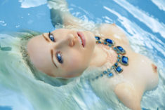Janelle in the pool, by Arkisi – Most Beautiful Picture