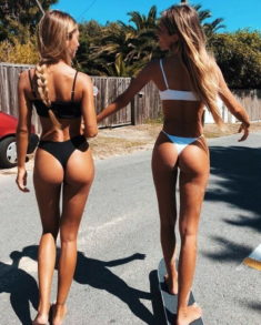 Sexy young beauties