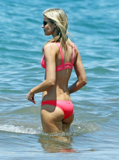 Paige Butcher's tight ass