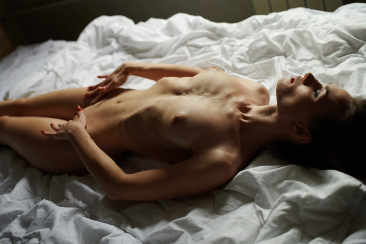 Wet on bed