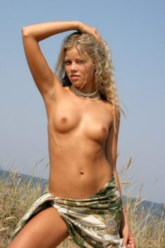 Young blonde beauty Joulie A in Valkyria