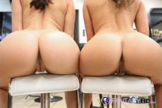 Perfect tight asses offered