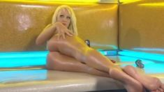 charming dirty talk model with live call video
