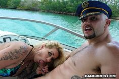 Ryan Conner – Doing Blowjob on Boater's Penis