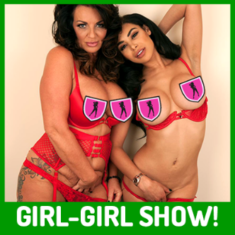 Join Olivia Berzinc and Modesty Blaze, getting together for a girl-on-girl webcam show!