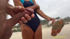 Privates in Public: Public Beach Nudity Tuesday – Chatting and wanking in public as people ...
