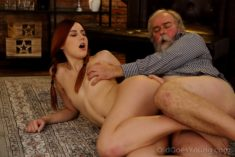 Charli Red – Giving Pleasure to the Old Man