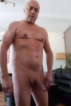 Real male exhibitionist exposed naked