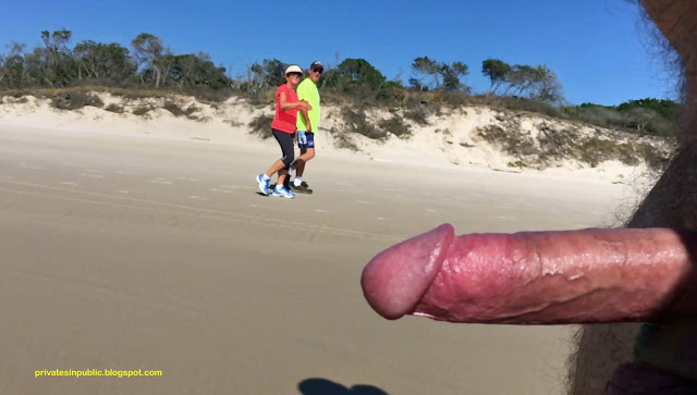 Privates in Public: Public Erection Flasher CFNM Exhibitionist Beach Tuesday – another mat ...