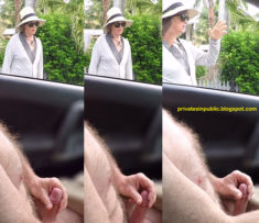 Privates in Public: Thursday Carflash – Public erection flasher masturbation attracts a ma ...