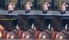 Public Erection Carflash Masturbation CFNM Flasher Exhibitionist – A young mom has a good  ...