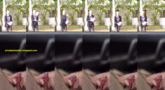 Public erection flasher masturbation carflash in public for young girl