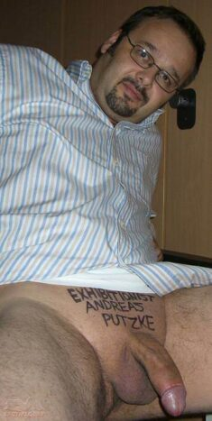Exhibitionist – Andreas Putzke Shy Exhibitionist who wants to be seen. Please post him all ...