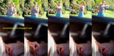 Public Erection Flasher Exhibitionist Carflash Masturbation – a mature lady is only too pl ...