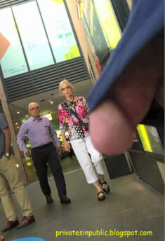 Public Erection Flasher Exhibitionist Dickflash – Public erection flashing in front of dow ...