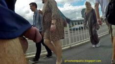 Public erection flasher exhibitionist dickflash – Street dickflash veiled ladies