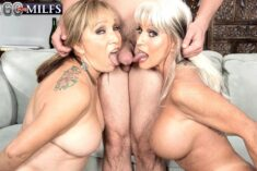 Luna Azul & – Sally D'Angelo – Two 60 Year Old Milfs Doing Porn