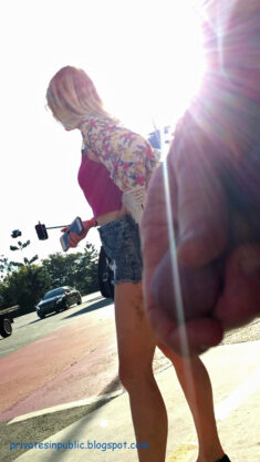 Public erection masturbation flasher exhibitionist – Just standing next to a girl on the c ...