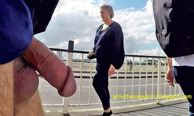 Public Erection Flasher Exhibitionist Dickflash – dick and balls waving in the breeze for  ...