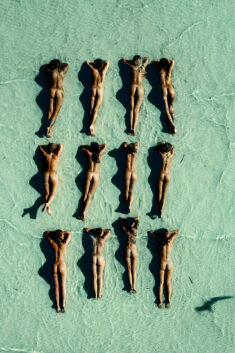Collection of perfect nudist babes