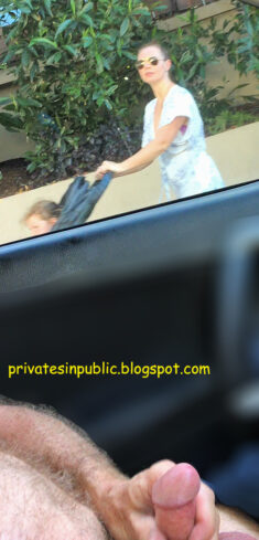 Public erection masturbation flasher exhibitionist carflash – Mommy's distracted by  ...