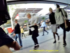 Public erection flasher exhibitionist dickflash on the street – Cock out on the retail mall