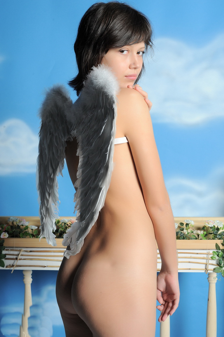 Perfect tight ass angel